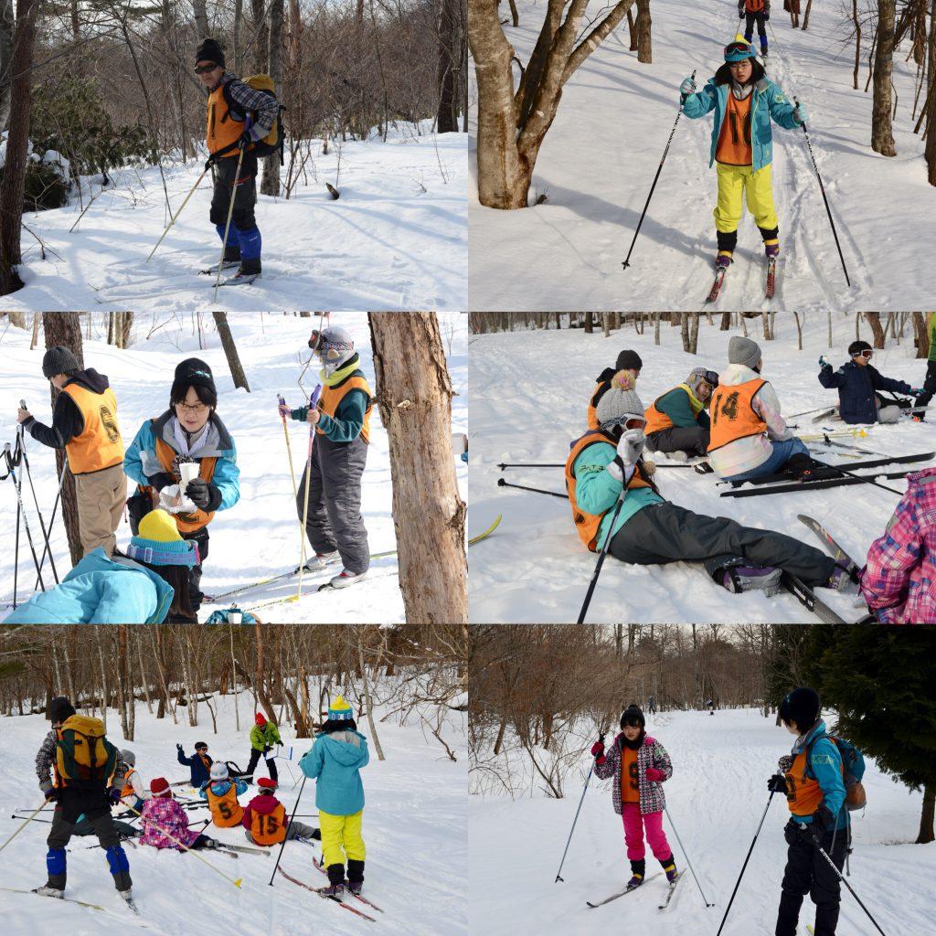 歩くスキーその2