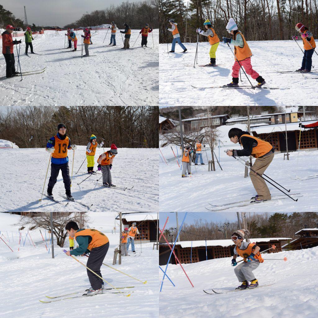 歩くスキーその1